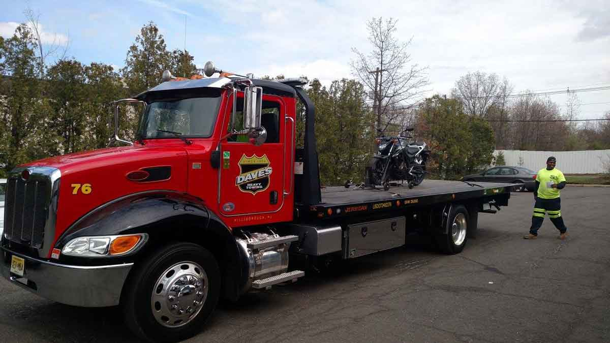 Motorcycle Towing Central NJ